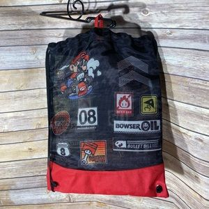 🌸 5 for 25.00 sale Mario Brothers backpack